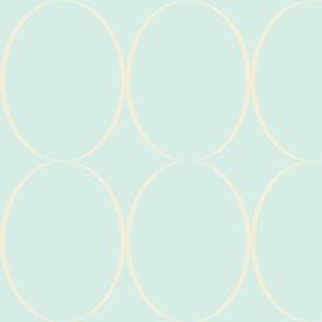 light blue large rings