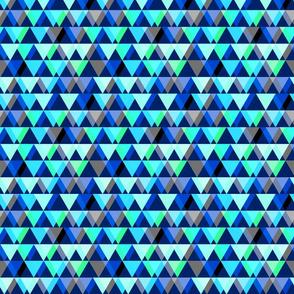 Triangulate - Aqua