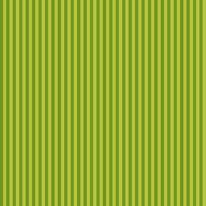 skinny apple-green stripes