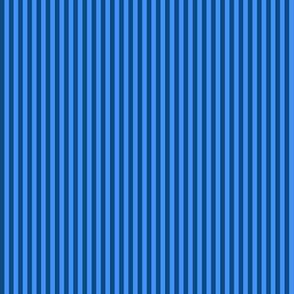 skinny blue pajama stripes