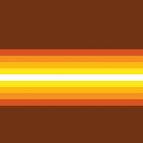 gradient stripes-orange-yellow-brown