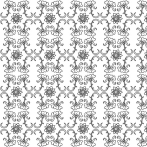 Black and White Color in Wallpaper