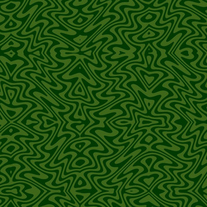 butterfly swirl in leaf and forest green