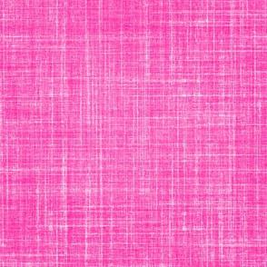 Faux linen in Dianthus pink