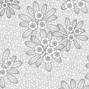 Paper Fresco - the Flower of Devon