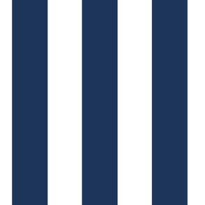 Circus Stripe, Navy