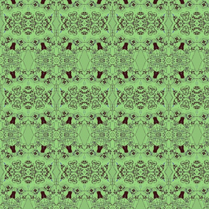 DOTD abstract green