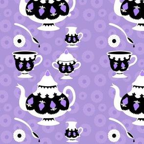 Strawberry Tea - purple