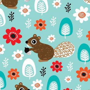 Beaver woodland for kids