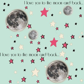 I Love You to the Moon and Back | Paper Moon Collection