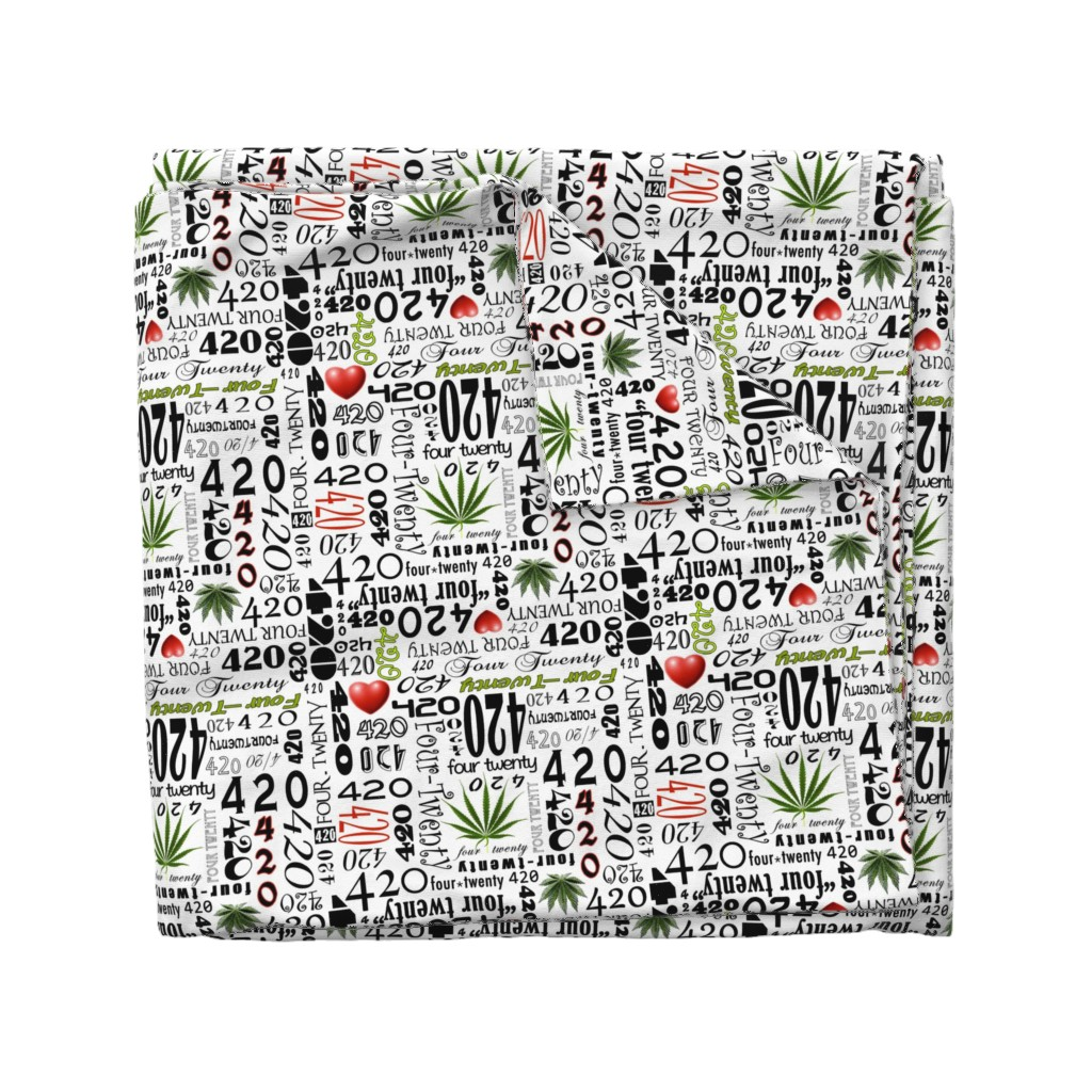 Wyandotte Duvet Cover featuring 420 by camomoto