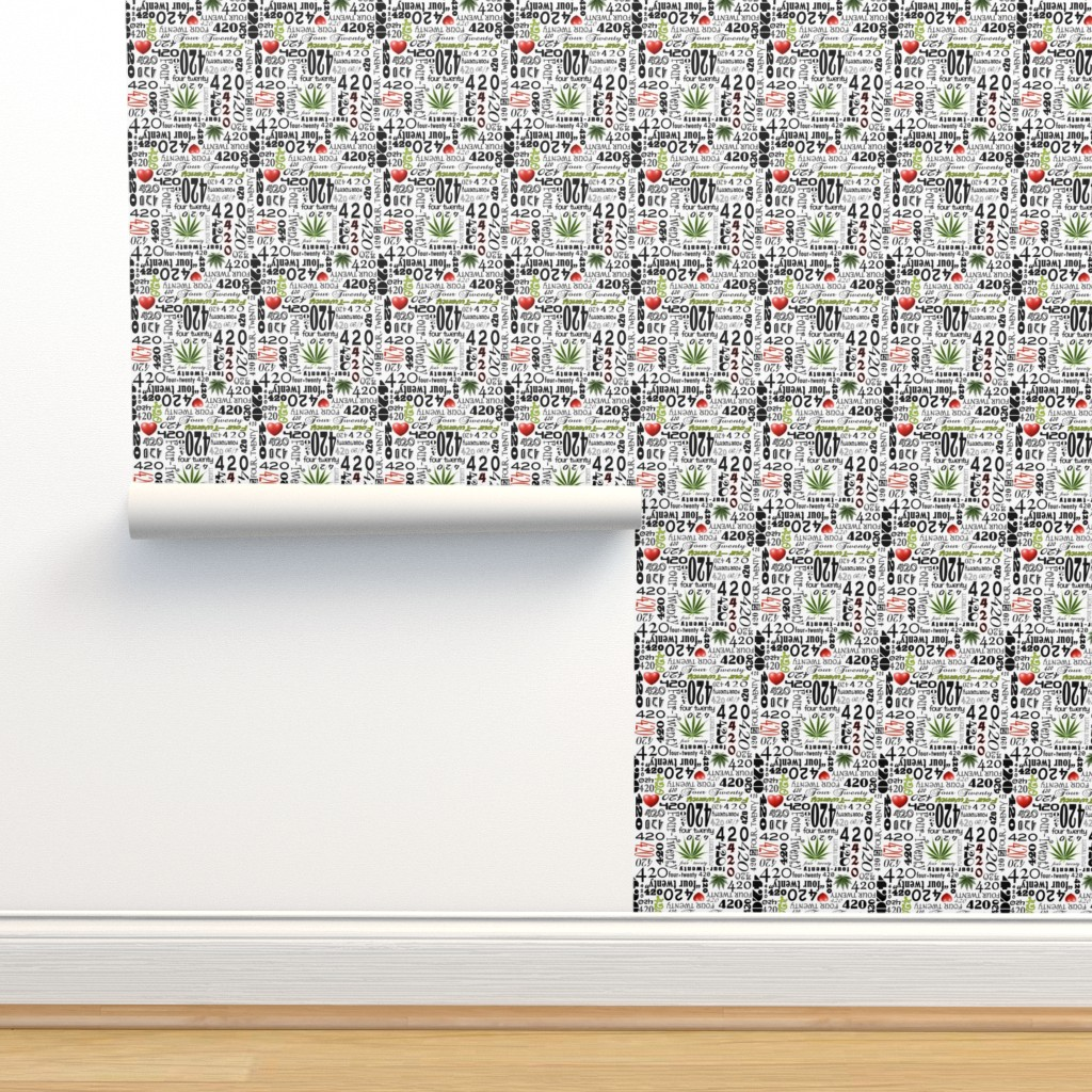 Isobar Durable Wallpaper featuring 420 by camomoto