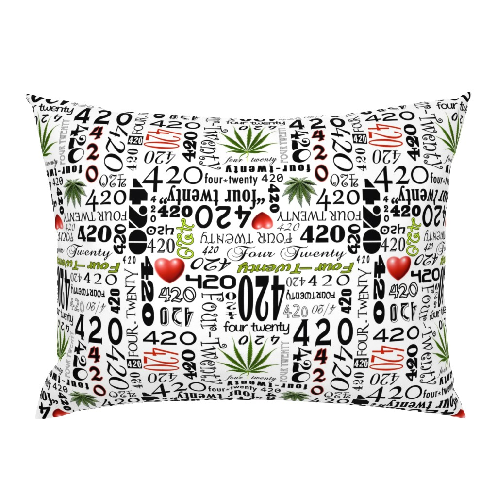 Campine Pillow Sham featuring 420 by camomoto