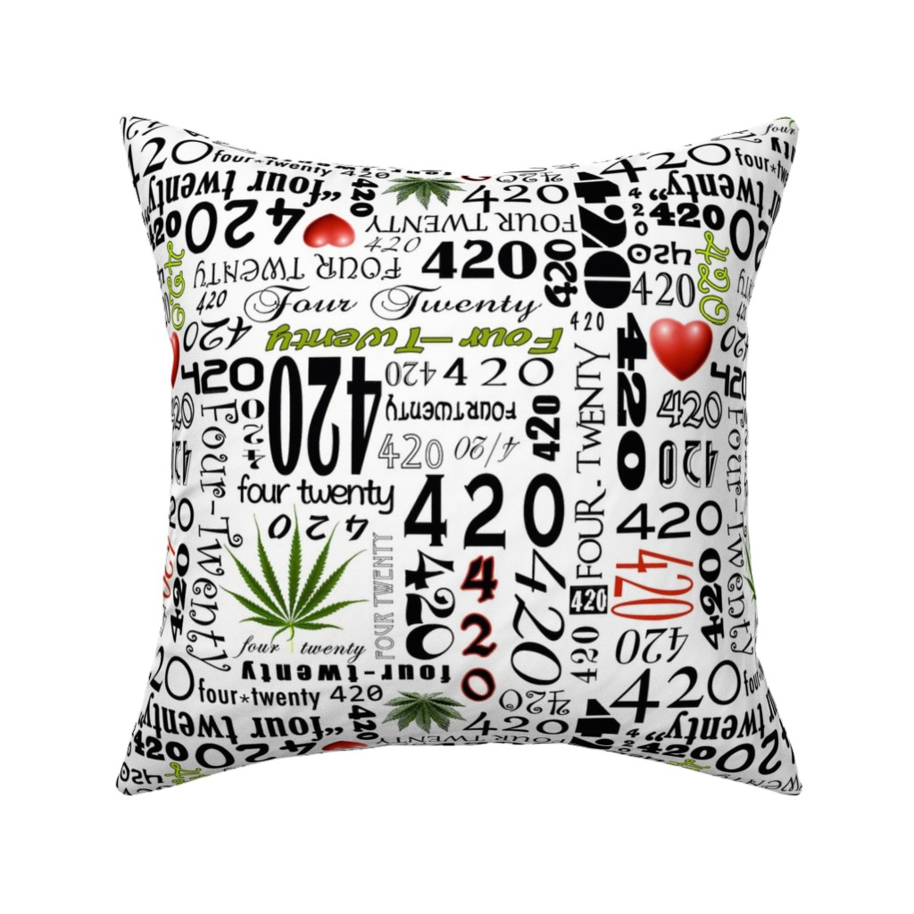 Catalan Throw Pillow featuring 420 by camomoto