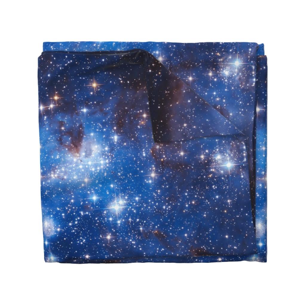 Wyandotte Duvet Cover featuring Cosmos by shino_usagi