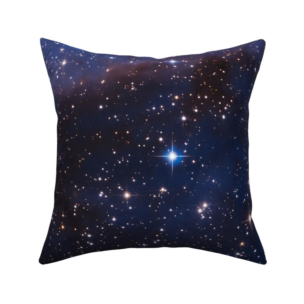 Catalan Throw Pillow featuring Cosmos by shino_usagi