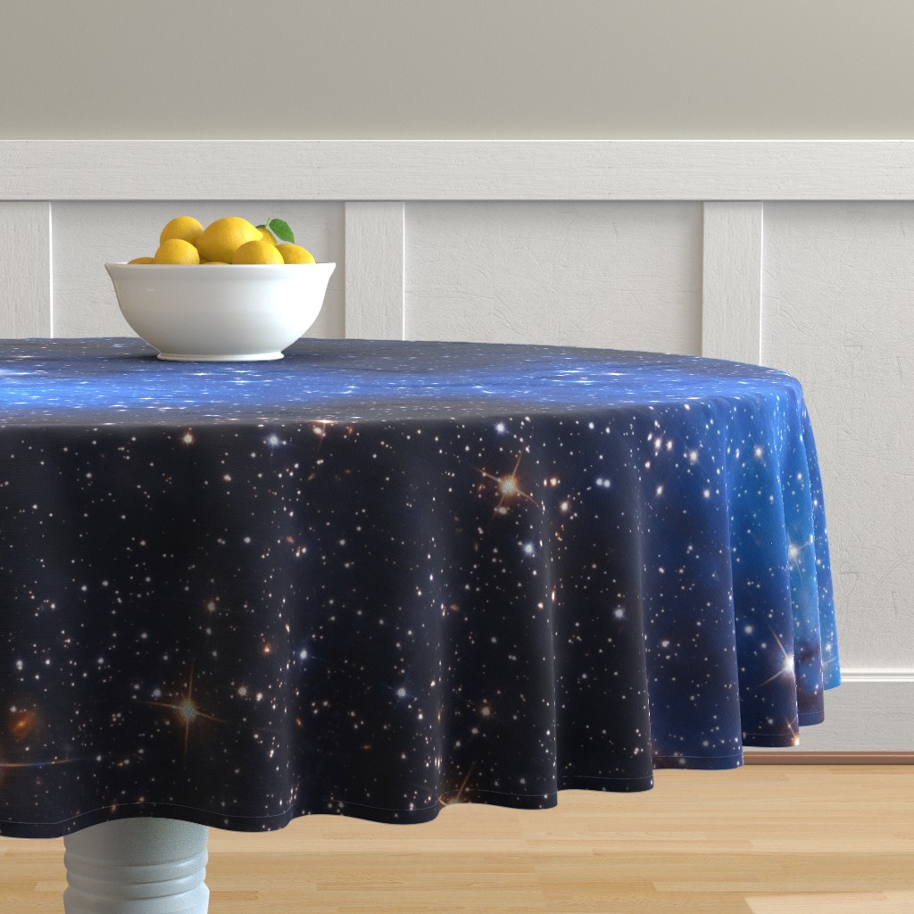 Malay Round Tablecloth featuring Cosmos by shino_usagi