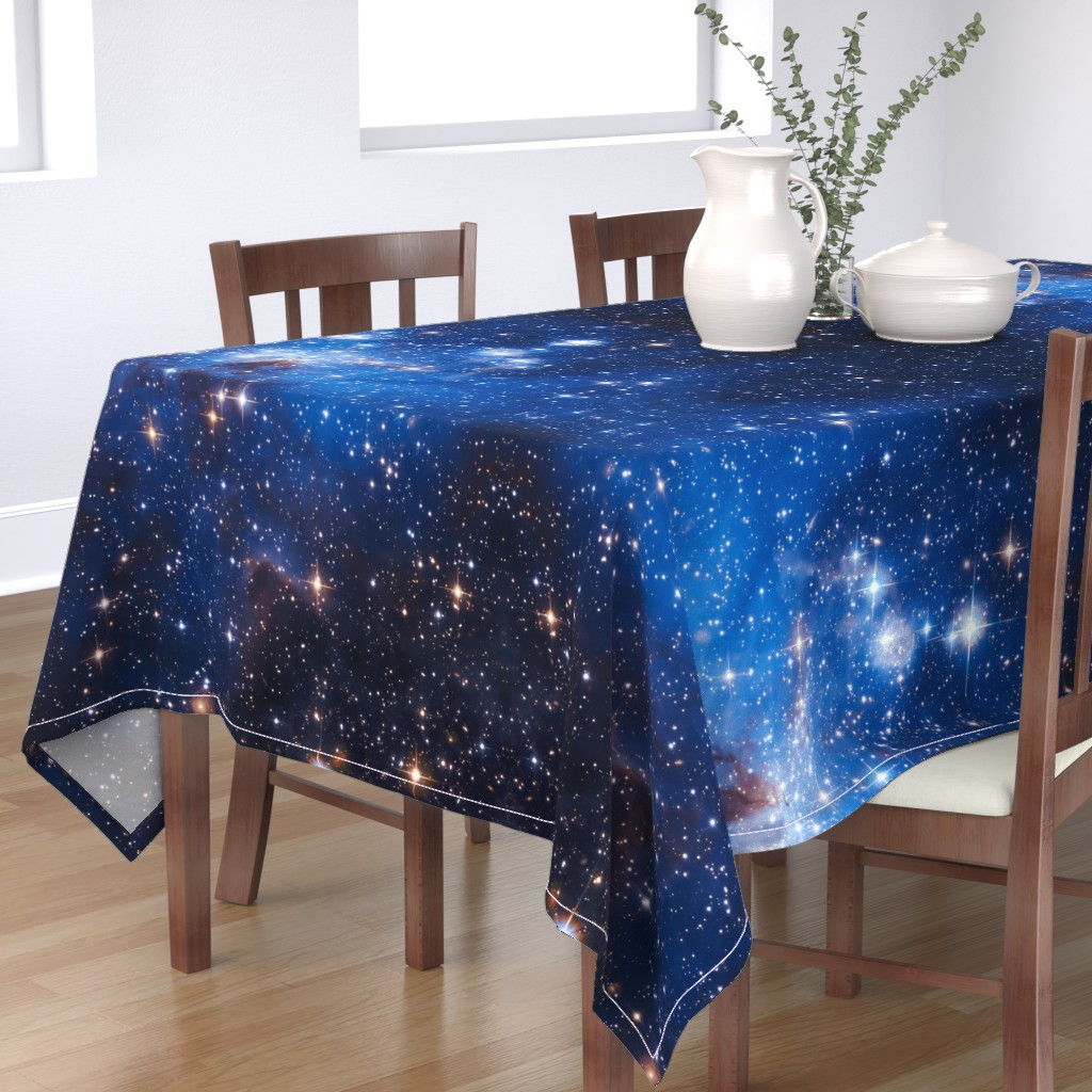 Bantam Rectangular Tablecloth featuring Cosmos by shino_usagi