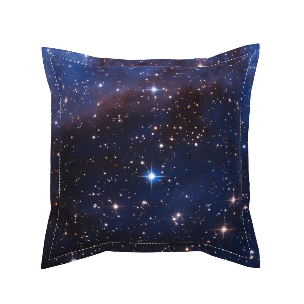 Serama Throw Pillow featuring Cosmos by shino_usagi
