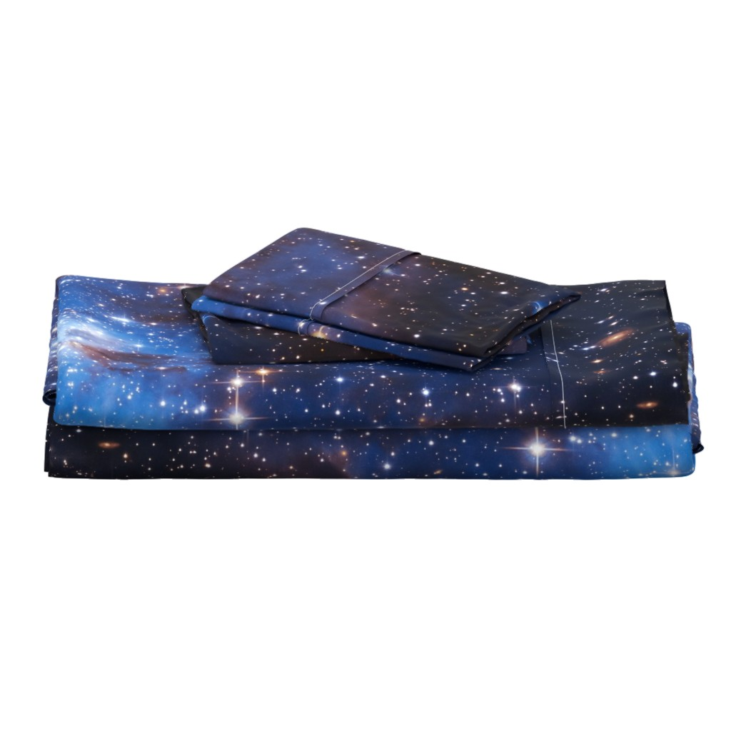 Langshan Full Bed Set featuring Cosmos by shino_usagi
