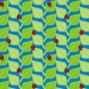 Ladybugs and Leaves