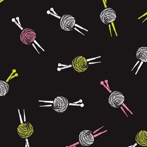 Knitting wool for crafty fashion