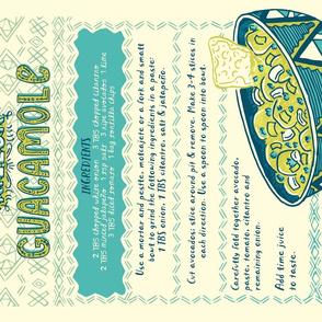 Killer Guacamole Tea Towl