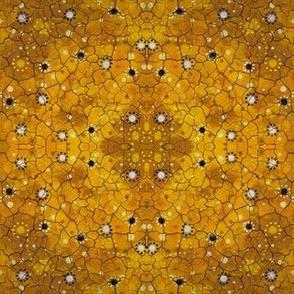 Crazed Yellow Bandana