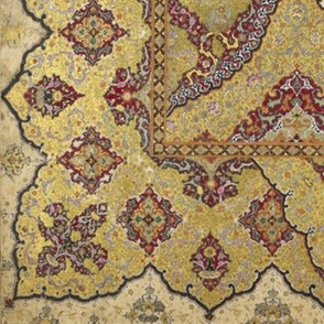 Persian Dream ~Gilt on Red