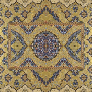 Persian Dream ~Gilt on Cobalt