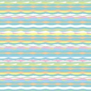 Tropical Stripes (Pastel)