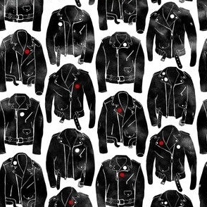 Small Leather Punk Jackets