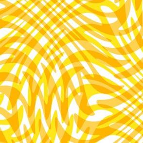 gold plaid swirl