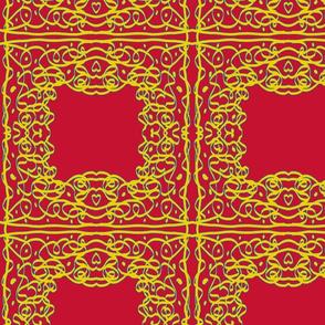Jan's Bandanna1 red yellow blue