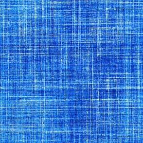 Linen in Cobalt blue