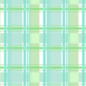 carreaux vert d'eau