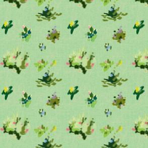 Ditsy Abstract Blossoms