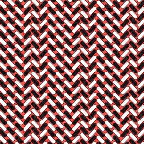 Geometric Small 3 (Cayenne)