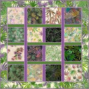Camomoto Cannabis Quilt (R)
