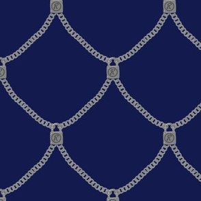 Sid Vicious Necklace - Blue
