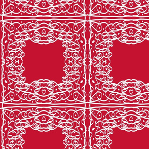 Jan's Bandanna1 red white