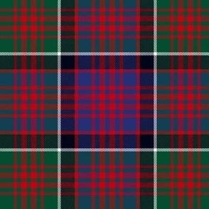 "MacDonald of Clan Ranald tartan variant, 6"""