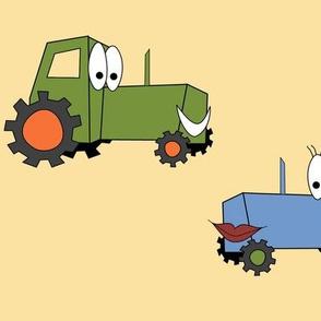 Tractors A'Smiling