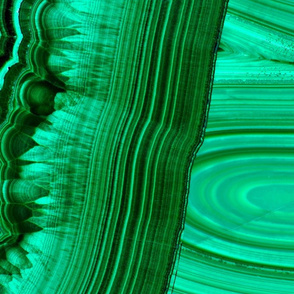 Malachite Peppermint swirl