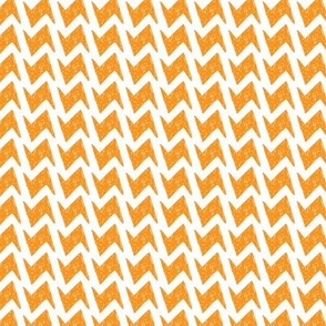 Geometric Fashion quilt orange pattern