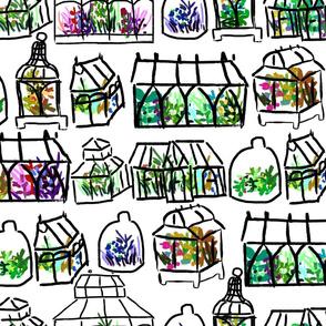 painting them terrariums