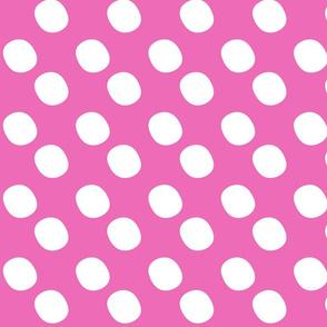 PP Pink Pebble Dots