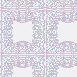 Jan's Spring Air Bandanna1 white pink blue