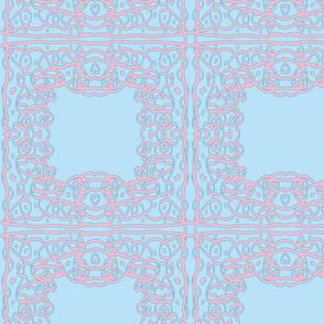Jan's Spring Air Bandanna1 blue pink