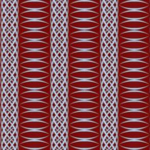 Arc Stripe   -dark red